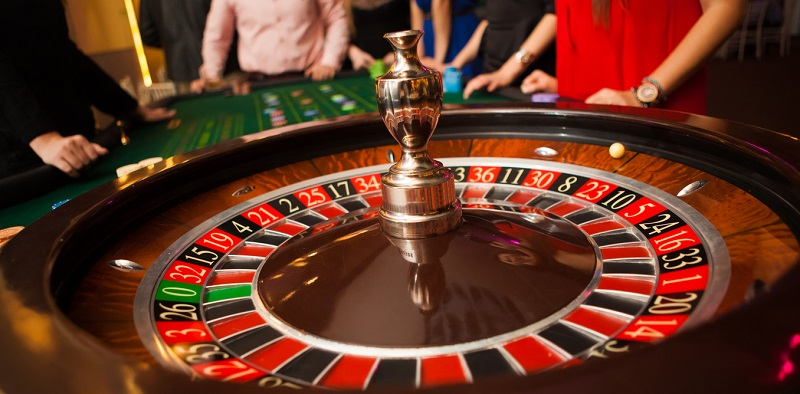 roulette trong casino trực tuyến