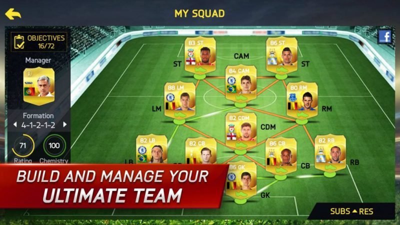 Game bóng đá FIFA 15 Ultimate Team